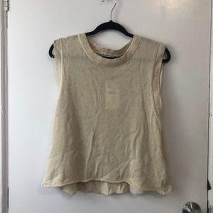 NWT; Zara Sleeveless Sweater Tank